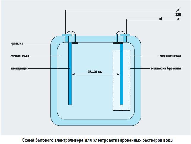 Как сделать живую воду самостоятельно католит анолит
