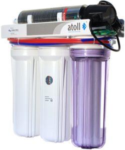 проточный фильтр для воды Atoll
