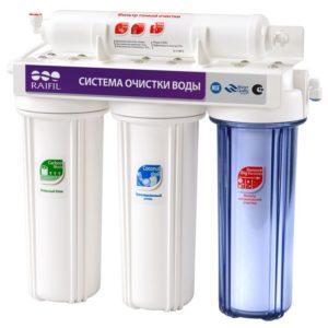 Проточный фильтр для воды RAIFIL