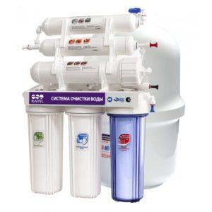 проточный фильтр тонкой очистки воды