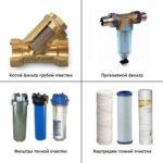 фильтр грубой и тонкой очистки воды