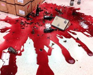 покупатель разбил товар в магазине