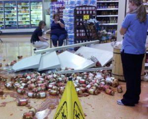 разбили в магазине товар закон