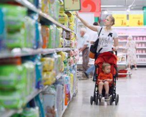 не пускают в магазин с коляской