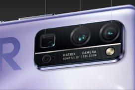 смартфон с мощной батареей и камерой