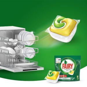 Капсулы FAIRY для посудомоечной машины. Обзор, анализ состава, отзывы