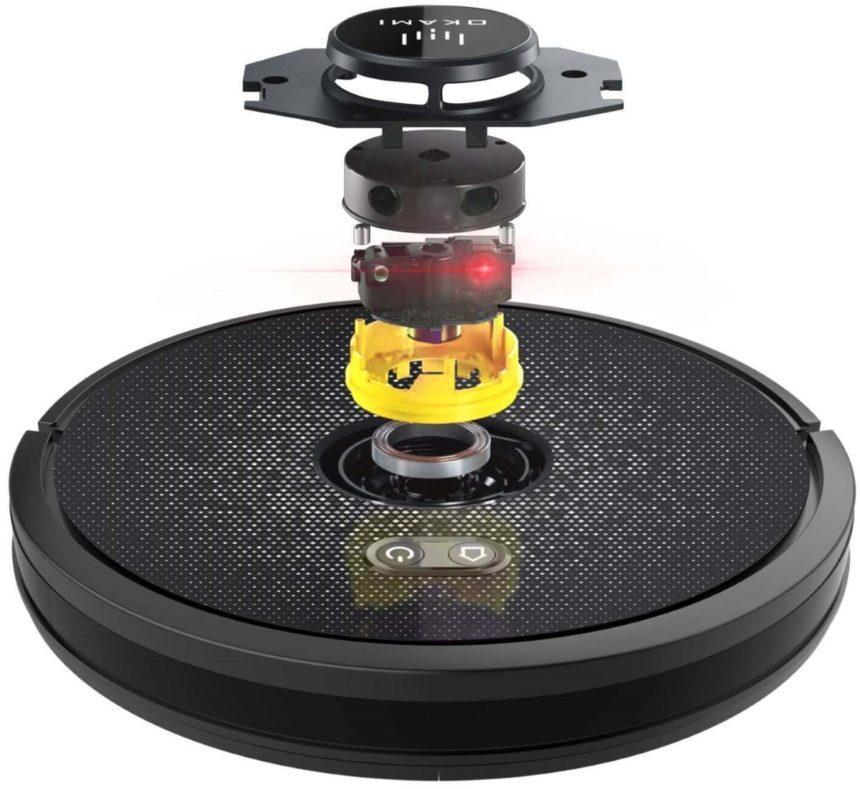 Okami U1000 Laser Рейтинг лучших роботов пылесосов топ 9