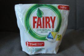 fairy таблетки для посудомойки