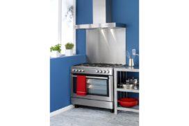 газовая плита с комбинированной духовкой
