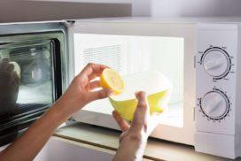 как почистить микроволновку в домашних условиях быстро