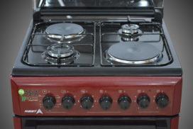 комбинированные газовые плиты гефест с электрической