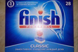 купить finish для посудомоечных 100 таблеток