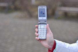 купить кнопочный телефон с большим экраном