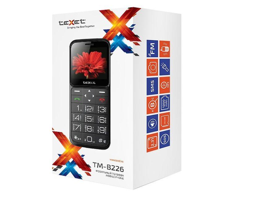 купить телефон для пожилых с большими кнопками