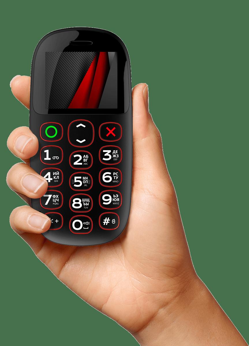 мобильный телефон для пожилых с большими кнопками