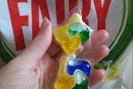 таблетки для посудомоечной машины fairy