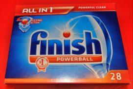 таблетки для посудомоечной машины finish 100 шт