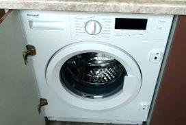 встраиваемая стирально сушильная машина