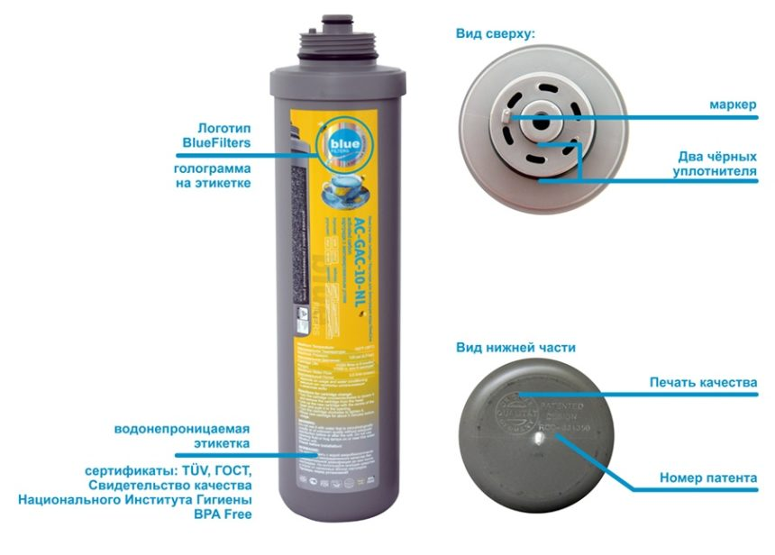 блю фильтр фильтр обратного осмоса германия 8 ступеней очистки