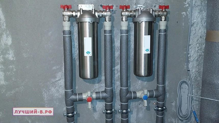 Лучшие магистральные фильтры для очистки воды для очистки воды дома дачи. Рейтинг. ТОП
