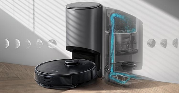 Ecovacs DeeBot OZMO T8 AIVI робот пылесос для элитной недвижимости