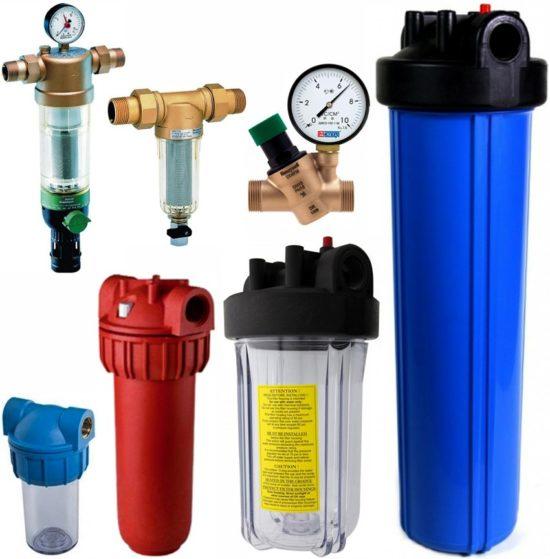 Магистральные фильтры для воды какой